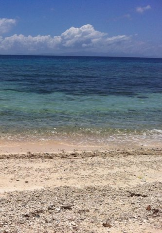 Looking into The Water from Limasawa Island