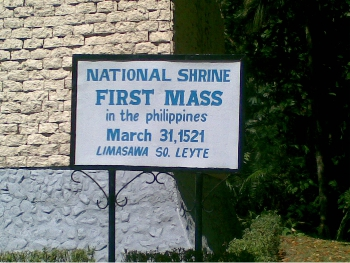 Limasawa Island First Mass in The Philippines